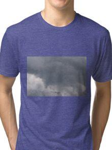 Fluffy stormy clouds. Tri-blend T-Shirt