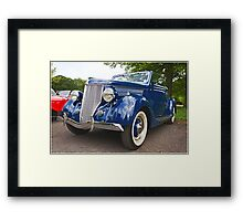 Classic Car at Lytham Hall Framed Print