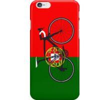 Bike Flag Portugal (Big - Highlight) iPhone Case/Skin