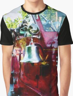 Bell On Fire Engine Graphic T-Shirt