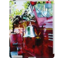 Bell On Fire Engine iPad Case/Skin