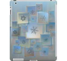 Snowflake collage - Bright crystals 2012-2014 iPad Case/Skin