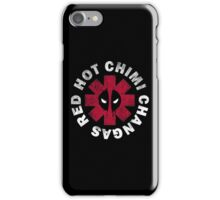 Red Hot Chimichangas iPhone Case/Skin
