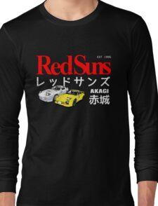 Initial D - Akagi RedSuns Long Sleeve T-Shirt