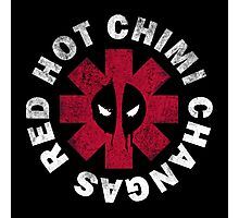 Red Hot Chimichangas Photographic Print