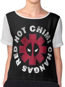 Red Hot Chimichangas Chiffon Top