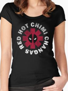 Red Hot Chimichangas Women's Fitted Scoop T-Shirt