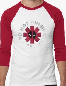 Red Hot Chimichangas Men's Baseball ¾ T-Shirt
