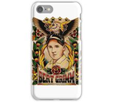 Old Timers - Bert Grimm iPhone Case/Skin