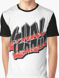 Lethal League Logo Graphic T-Shirt