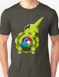 Shiny Larvitar w/ Beach Ball Unisex T-Shirt