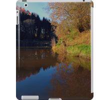 Romantic evening at the pond | waterscape photography iPad Case/Skin