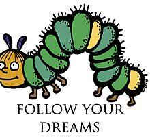 Ralph Wiggum- Follow Your Dreams by litzippo