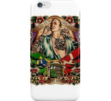 "Old Timers - Knud Gregersen ""Lucky Tattoo"" iPhone Case/Skin"