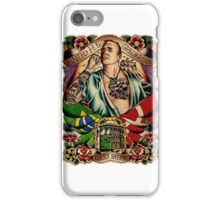 """Old Timers - Knud Gregersen """"Lucky Tattoo"""" iPhone Case/Skin"""