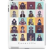 Coenville (w/ black lettering) iPad Case/Skin