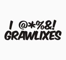 I  @*%&! grawlixes Kids Clothes