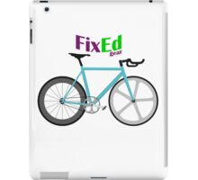 Fixed gear iPad Case/Skin