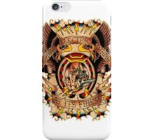 Informative Signs - Set 01 - Electric tattooing iPhone Case/Skin
