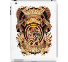 Informative Signs - Set 01 - Electric tattooing iPad Case/Skin