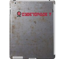 Ono-Sendai Cyberspace 7 - Rusty Steel Background III iPad Case/Skin