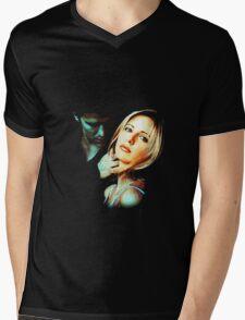 Buffy & Angel Mens V-Neck T-Shirt