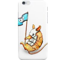 Armoured Mouse - Watercolour iPhone Case/Skin