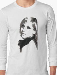 Sarah Michelle Gellar Long Sleeve T-Shirt