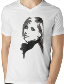 Sarah Michelle Gellar Mens V-Neck T-Shirt