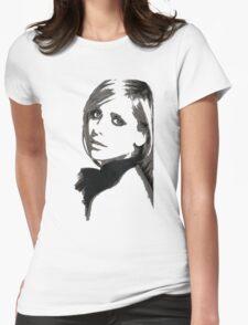 Sarah Michelle Gellar Womens Fitted T-Shirt