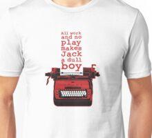 Shining typewriter Unisex T-Shirt