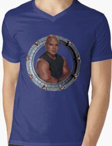 Teal'C Mens V-Neck T-Shirt