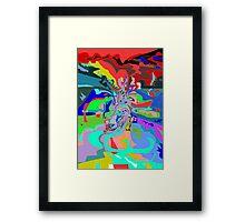 Adventures in mind Reversi Framed Print