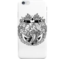 Mermaid Anchor Lines iPhone Case/Skin