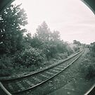 Railway track by Roxy J