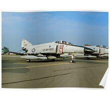 McDonnell F-4E Phantom II 66-0370 Poster