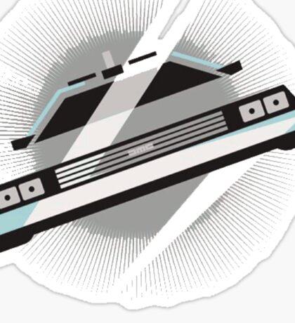 Time machine Sticker