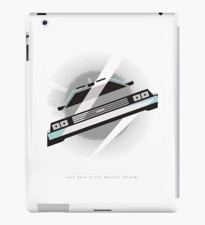 Time machine iPad Case/Skin