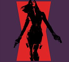 Silhouette Widow by pinkpunk83