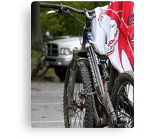 Laundry by Bike  Canvas Print
