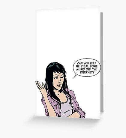 Kate Bishop Greeting Card
