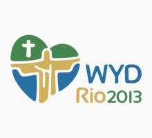 World Youth Day 2013 in Rio logo One Piece - Short Sleeve