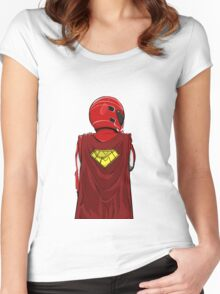 Michael Schumacher - #SupermanDay Tribute Women's Fitted Scoop T-Shirt
