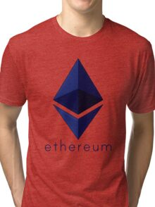 Ethereum Blue  Tri-blend T-Shirt
