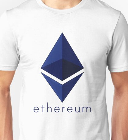 Ethereum Blue  Unisex T-Shirt