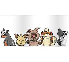Pokemon Pups Poster