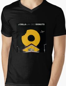 J Dilla - Donuts Album Cover Mens V-Neck T-Shirt