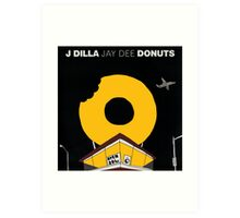 J Dilla - Donuts Album Cover Art Print