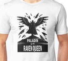 Paladin of the Raven Queen - B&W Variant Unisex T-Shirt