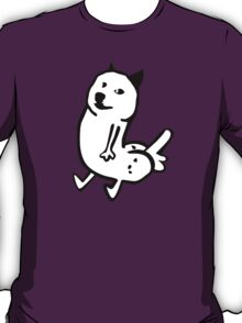 Dogebutt dick-butt and doge parody T-Shirt